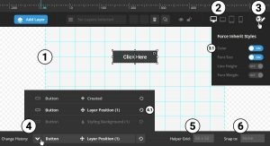 تنظیمات layer canvas ذر رولوشن اسلایدر revulotion slider