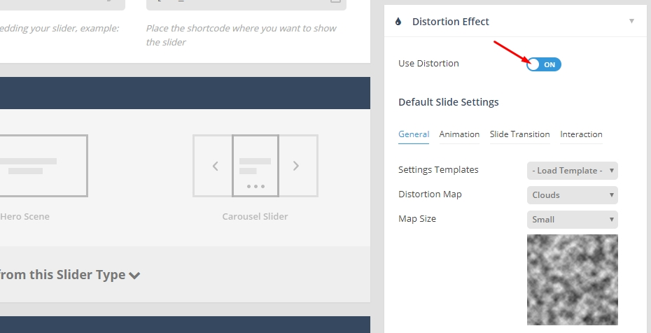 فعال کردن دمو Distortion Effect
