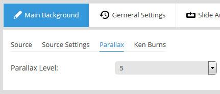 ایجاد parallax برای اسلایدر