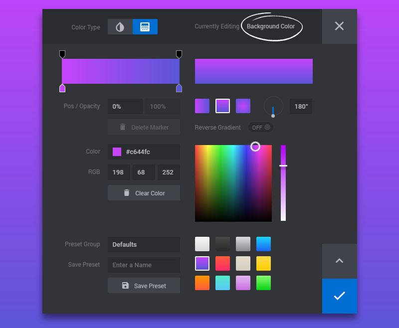 ایجاد تصویر Colored در اسلایدر رولوشن